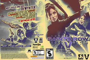SAINTS ROW V - PRINTABLE by reytime