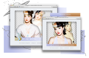 Pack Png 848 // Melanie Martinez by ExoticPngs