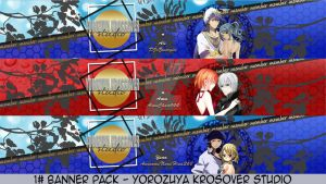 1st Youtube Banner Pack ~ YKS by xMissEllax