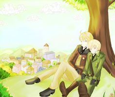 APH : You and I by RuminE