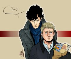 Johnlock sorry 1 by Slashpalooza