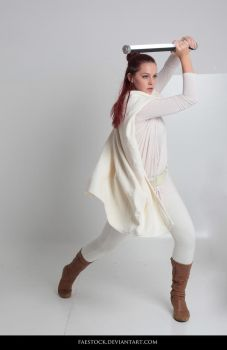 Jedi  - Stock Pose Reference 31 by faestock