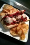 Italian Turkey Meatball Grinder by PrYmO-ART