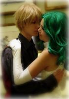 Sailor Moon: Haruka and Michiru by VandorWolf