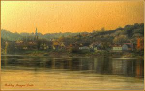 Hungarian landscapes.Danube-River. by magyarilaszlo