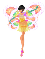 Winx Club oC: Amitola Enchantix by ShimmeringMagic