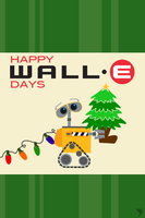 Happy WALL-E Days by TwisterMc