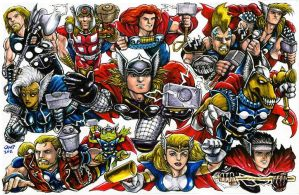Thor Corps by olybear