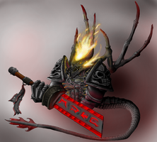 HoMM V - Pit Lord by Huussii