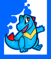 Totodile by chibi-rabbit