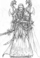 Disciple of Khaine Sketch by DKuang