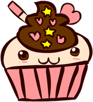 Kawaii Cupcake by Faery-Rainbow