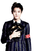 {PNG/Render #122} Chan Yeol (EXO) by Larry1042k1