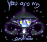 Lampent Soulmate Valentine by Eevie-chu