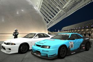 Normal and race car 2 by macaustar