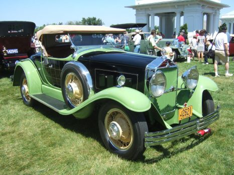 1930Willys-Knight 66B Plaidside Roadster, Griswold by Aya-Wavedancer