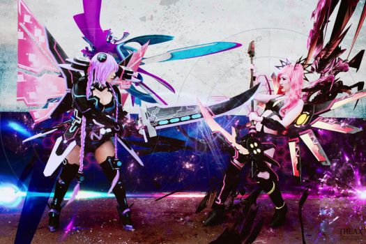 Hyperdimension Neptunia Cosplay by Hekady