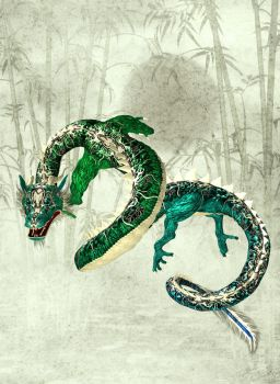 Ornamental Dragon by Avalokita