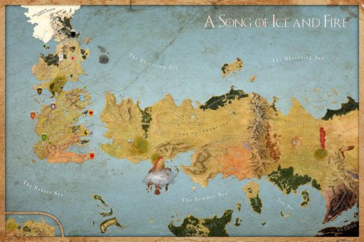 Map A Song of Ice and Fire Compassless All Houses by Sjefke-04