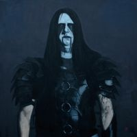 Dark funeral - oil painting by Aleksander-peca