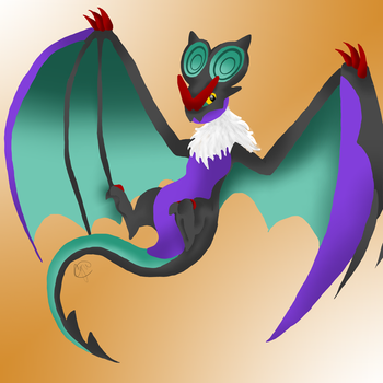 Noivern by Cassidillian