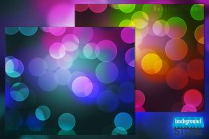 Abstract Bokeh Backdrop by BackgroundStore