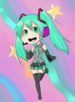 Vocaloid -  Miku by darkyivy