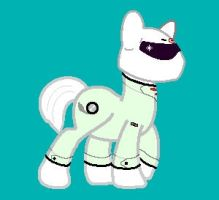 The Stig, in Pony form by ThisGuy2146