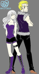Laxus Dreyar and Kayla Fae Pendragon (2) by Kaylove75