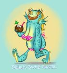 Boobie Monster. by StressedJenny