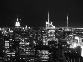The City That Never Sleeps. by JPeacePhotography