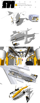 Stryder Modularity's Mako: WIP Part 1 by Pixel-pencil