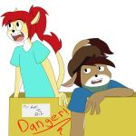 Angie and Jack Package by huhxyz