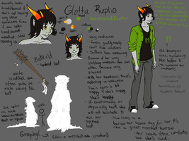 Glotta Ruplio Reference Sheet by Mawara