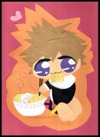 Sora Loves Ramen: cut+paste by Choux43
