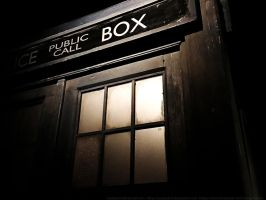 The TARDIS by Steelgohst by steelgohst