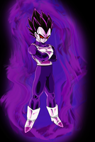 Xenoverse Evil Possessed Vegeta by EymSmiley