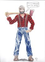 Lumberjack by Reflection-Of-Roses