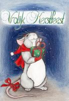 Christmas Mouse by Alevire
