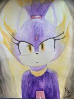 Blaze water color by Emeshards