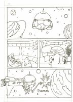 WIP Space Comic by TOASTme69