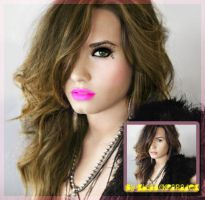 Demi Lovato MakeUp' by xblaackparadex