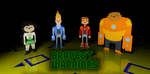 Bravest Warriors 3D pixels by AllicornUK