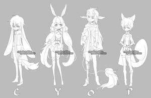 ADOPTABLES58 [CLOSED] by resadoptables