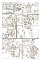 The Bar page 1 pencils by ScottEwen