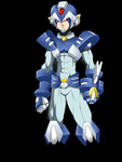 megaman X.... bad guy by RakinTor