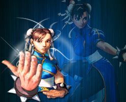 Chun Li Street Fighter Wallpaper by 1kamz
