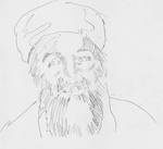 Bin Laden-raw sketch by deviantmike423