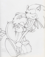 Request 4/ SonAmy by Ajir