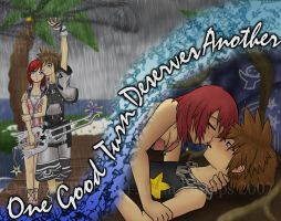 30--Under the Rain__KH2__ by acejustin